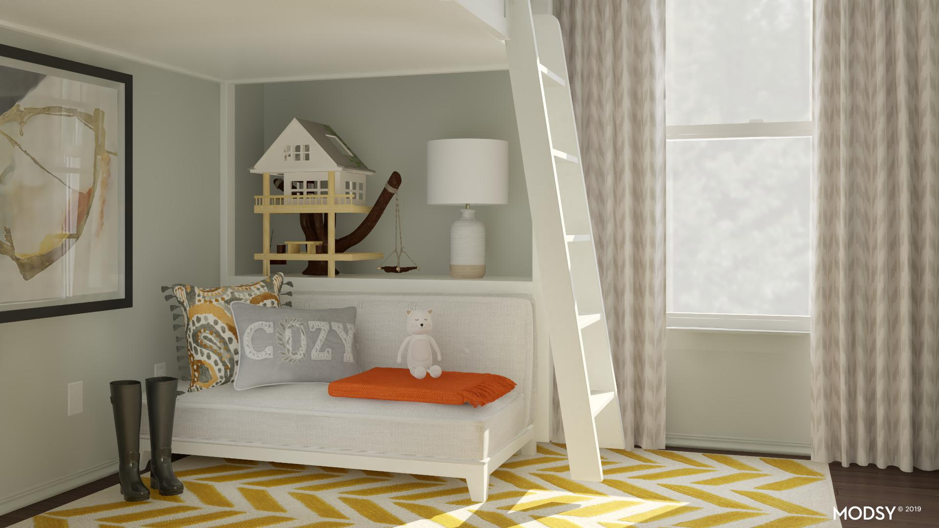 Clutter Free Rustic And Earthy Kids Room Rustic Style