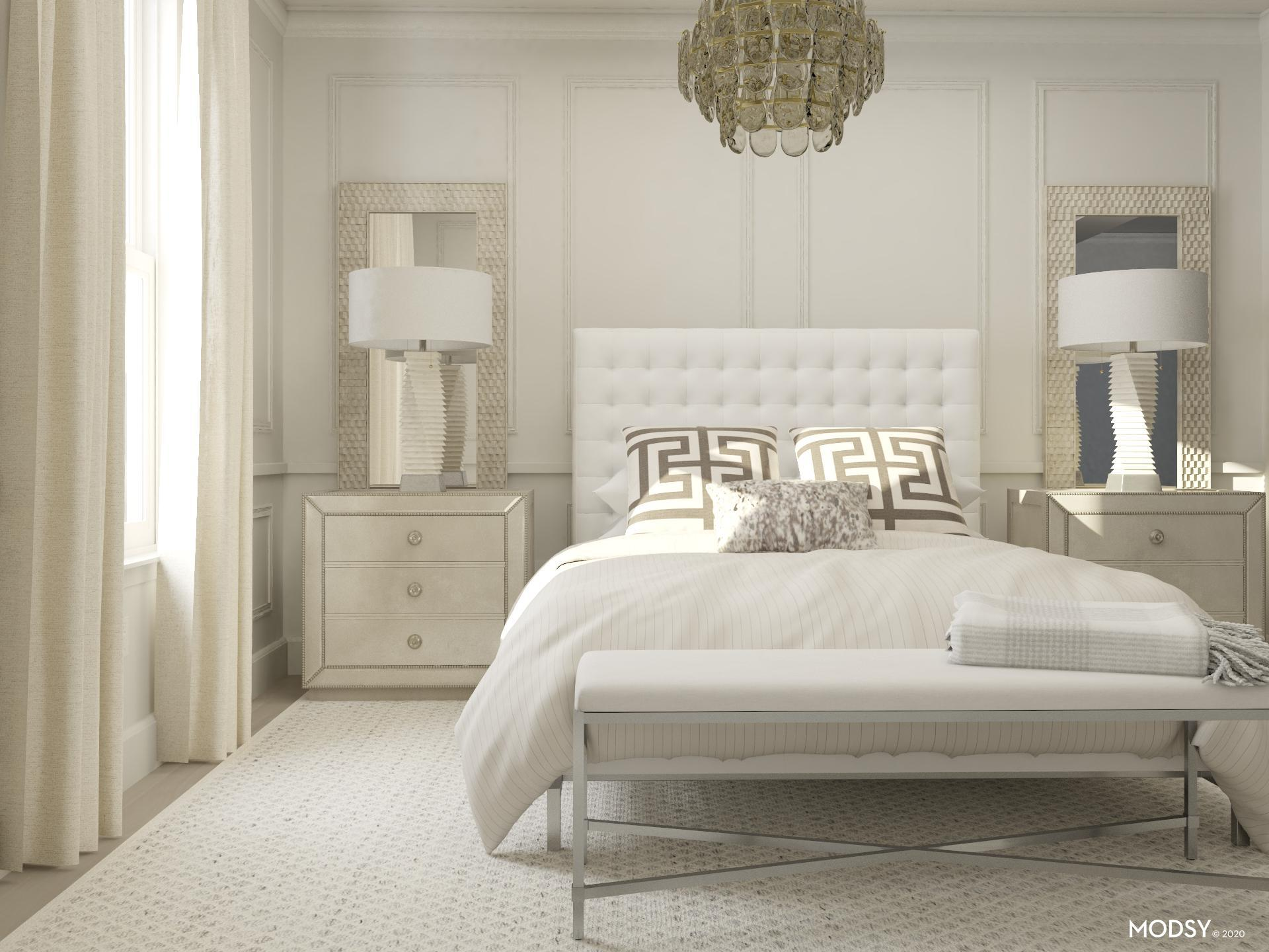 Glam Bedroom Design Ideas And Styles From Modsy Designers