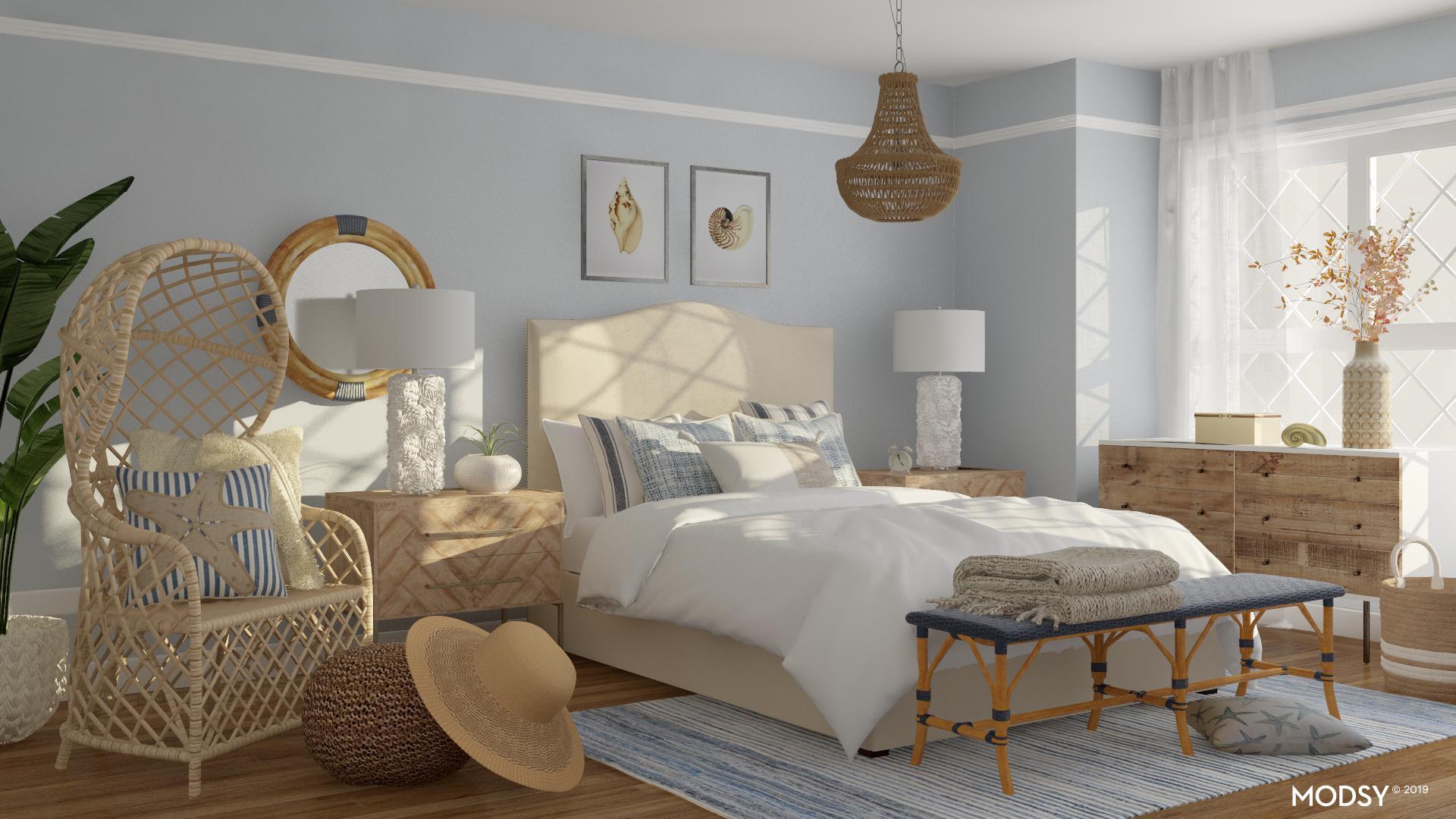 Coastal Rustic Bedroom Coastal Style Bedroom Design Ideas