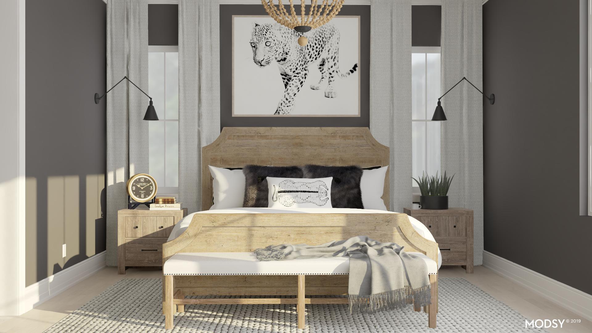 Bold Rustic Masculine Bedroom Modern Style Bedroom Design Ideas