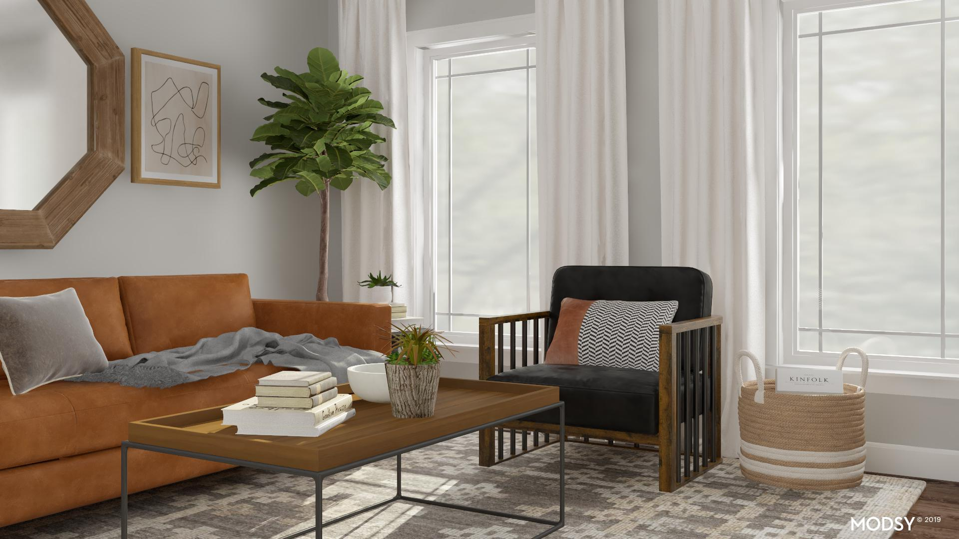 Balancing Cool Neutral Tones With Warm Accents | Rustic ...