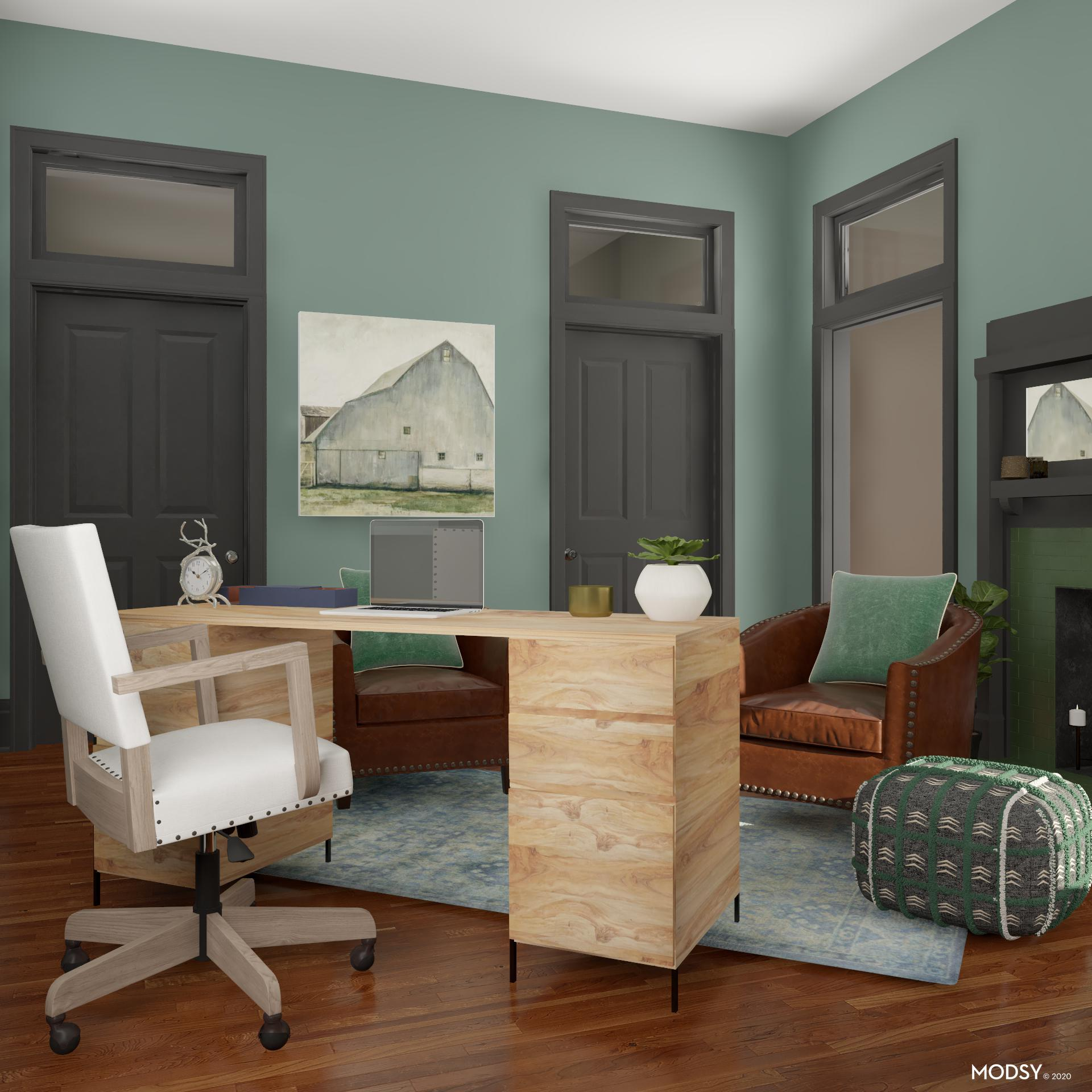 Rustic Woods Office Details Rustic Style Home Office