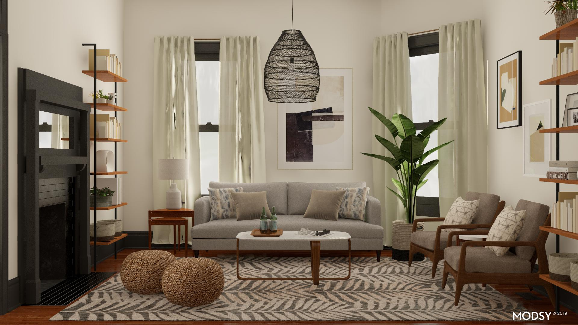 Eclectic Living Room Design Ideas And Styles From Modsy Designers