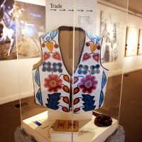 Chippewa-Cree beaded vest.