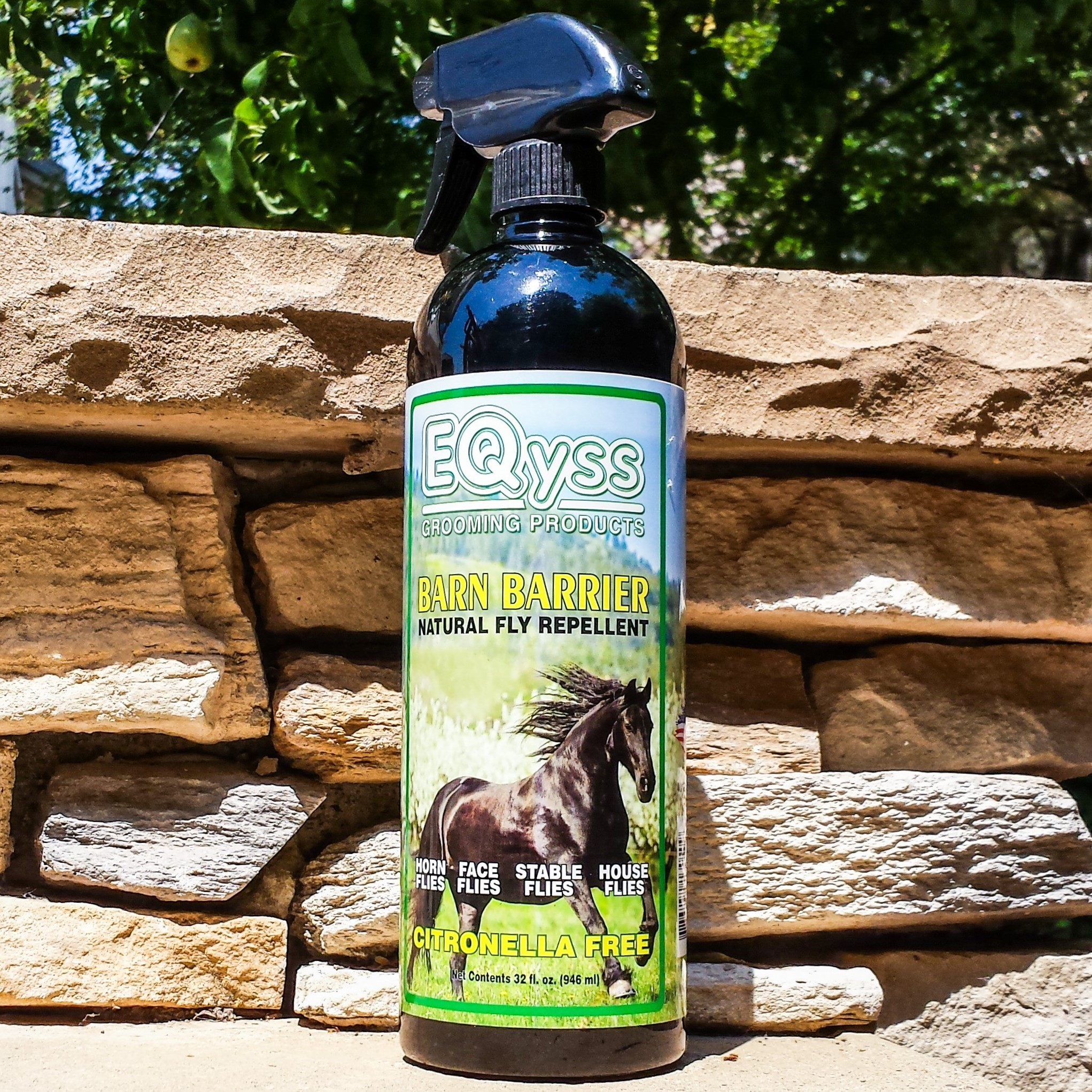 Customer Review Of Eqyss Barn Barrier Natural Fly Repellent