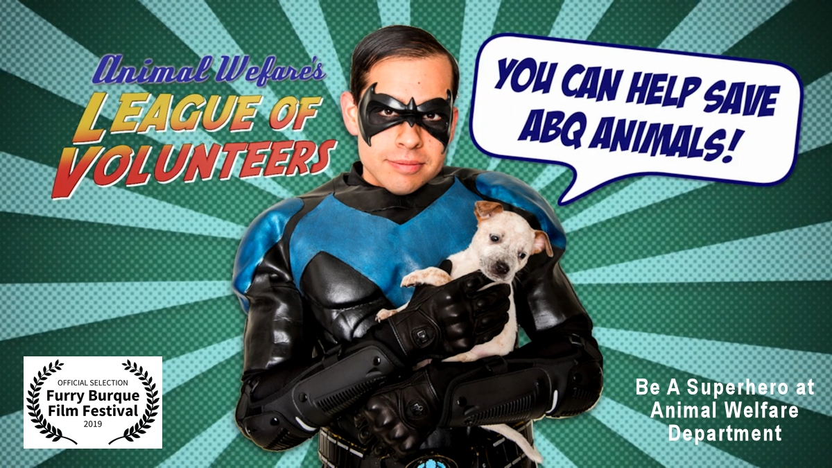 Be a Superhero at Animal Welfare Department