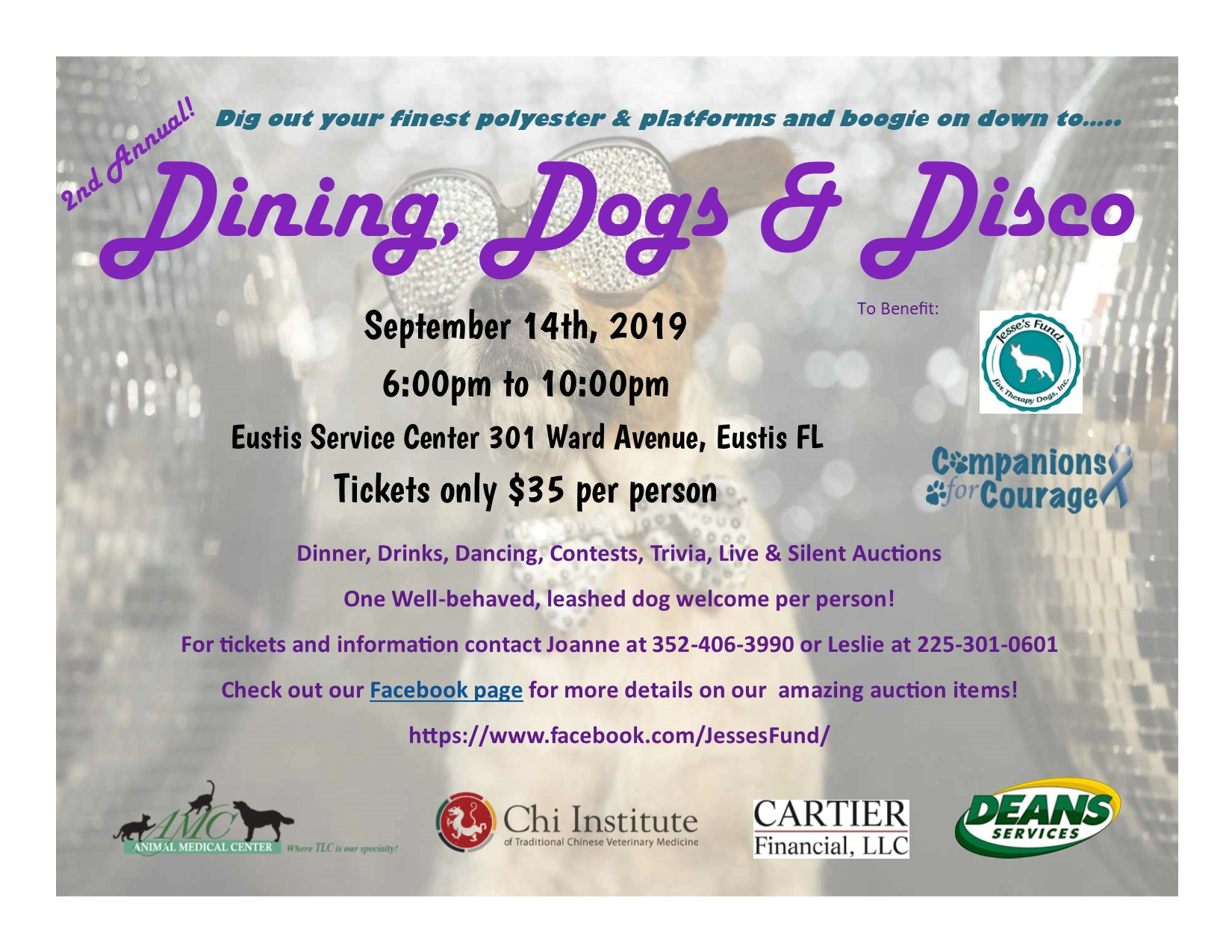 Dining Dogs & Disco