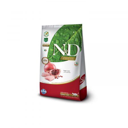 N&D PRIME FELINE – ADULTO - POLLO Y GRANADA