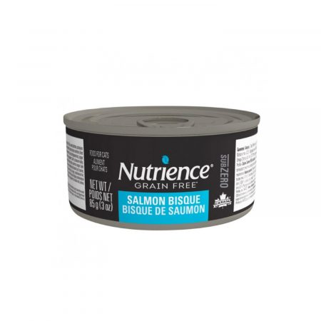 NUTRIENCE SUBZERO LATA - GATO - SALMON