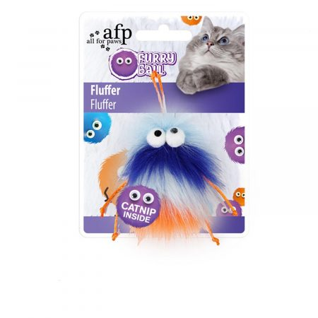 AFP FURRY BALL FLUFFER NARANJA