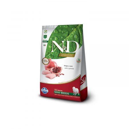 N&D PRIME CANINE - POLLO Y GRANADA ADULT MAXI