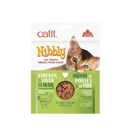 CATIT NIBBLY SNACK - Chicken & Liver