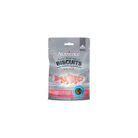 NUTRIENCE INFUSION BISCUITS SALMON & SESAMO