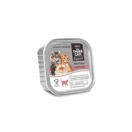 Three Cats Premium Especial Paté Castrados