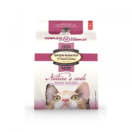 OVEN-BAKED - Nature's Code - Grain Free Chicken Formula Cat Food