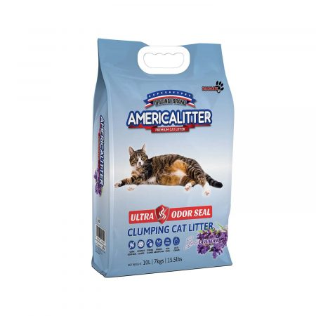 America Litter - Ultra Odor Seal Lavanda
