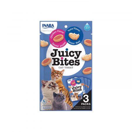 Inaba Juicy Bites -  Atún y Pollo