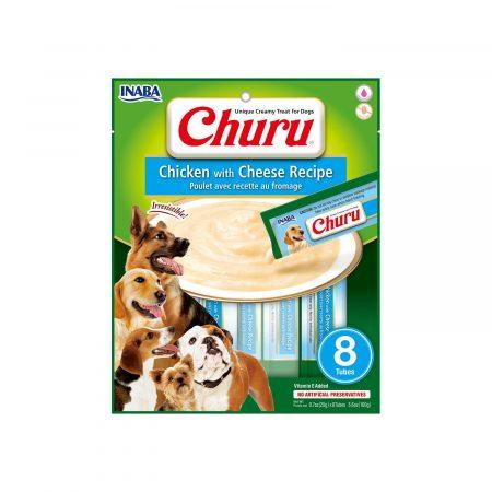 Inaba Ciao Churu Dog - Chicken with Cheese