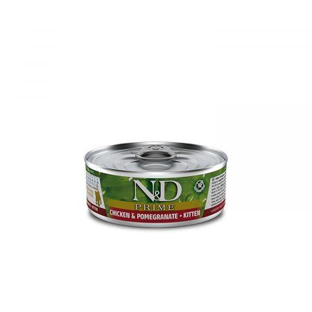 N&D POLLO & GRANADA GATITO (KITTEN) LATA