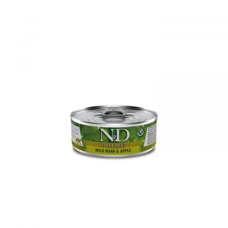 N&D FELINO PRIME WILD BOAR & APPLE