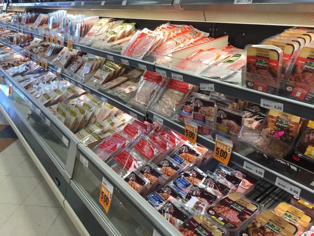 Processed Meat List