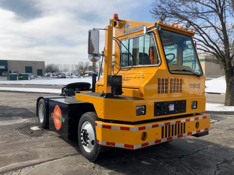 NWSA Orange EV Tractor