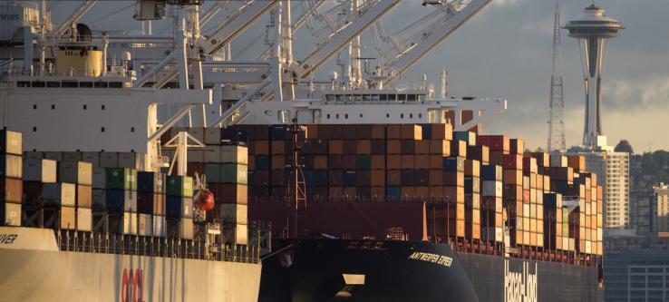 Ships at Terminal 18