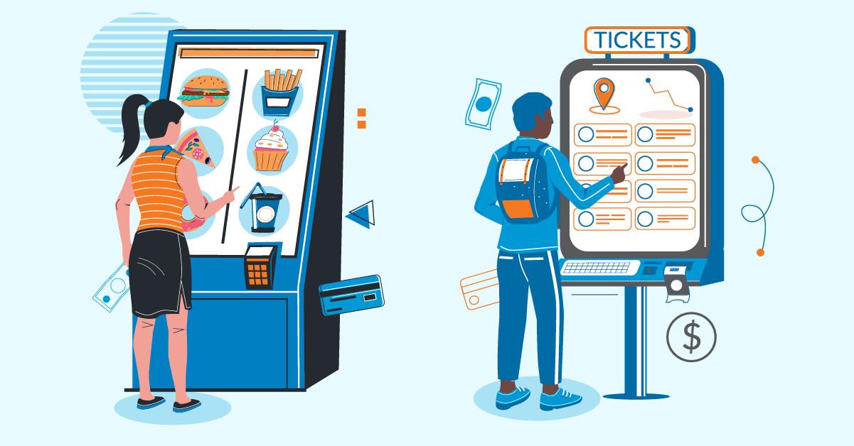 Wireless Kiosks Linked In