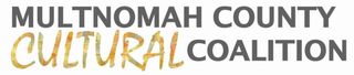 Multnomah County Cultural Coalition logo MCCC