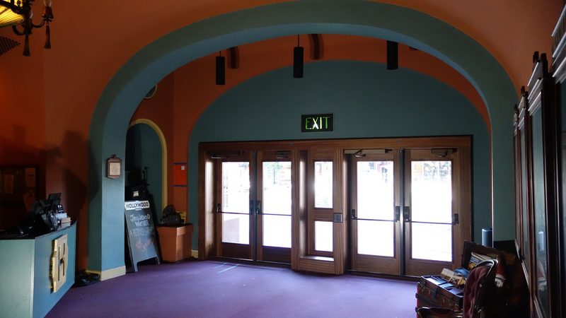 New doors as seen from lobby