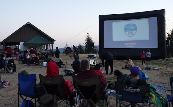 outdoor screenings