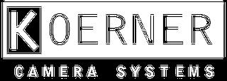 Koerner Camera white logo