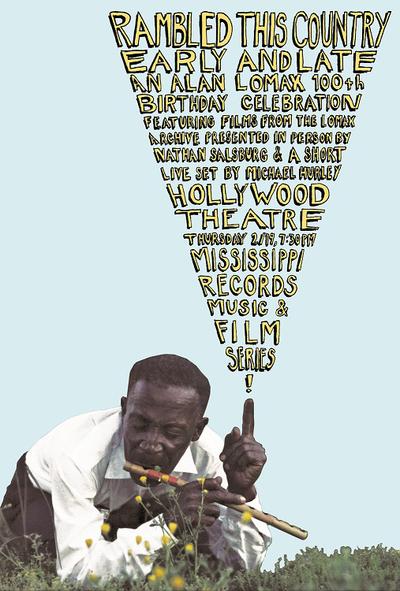 Alan Lomax Poster