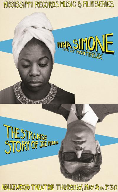 Nina Simone Joe Meek Poster