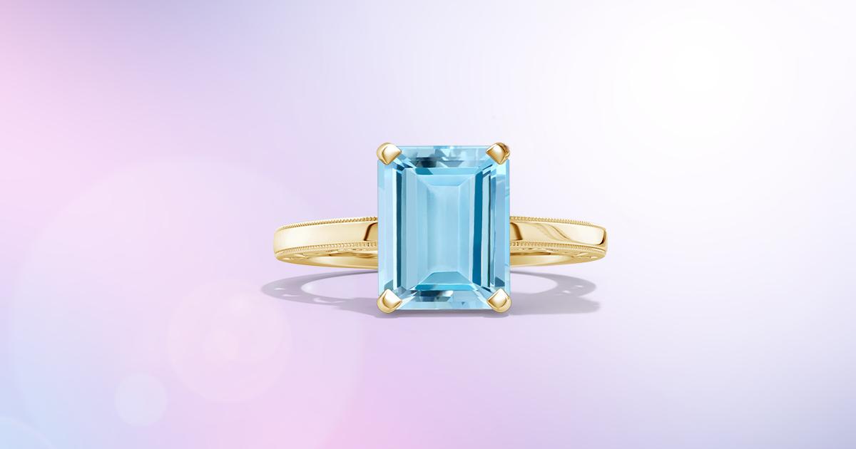 Natural Aquamarine Cabochon Gemstone Best Color Good Quality Aquamarine March Birthstone Ai 996