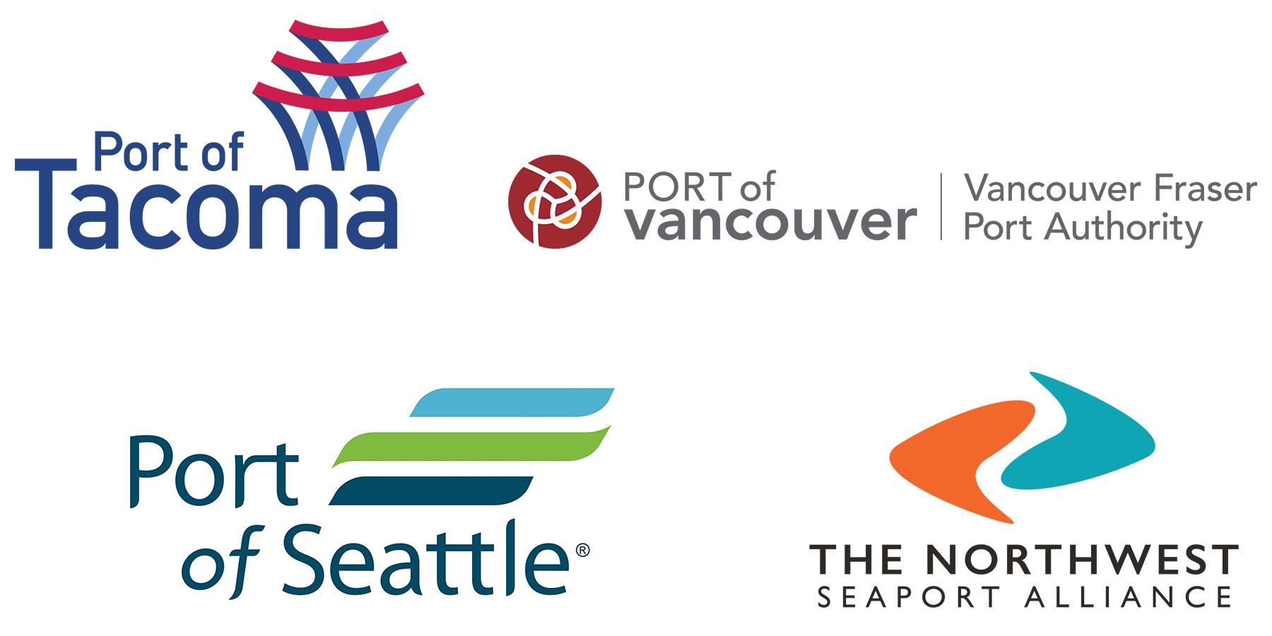 logos of four ports