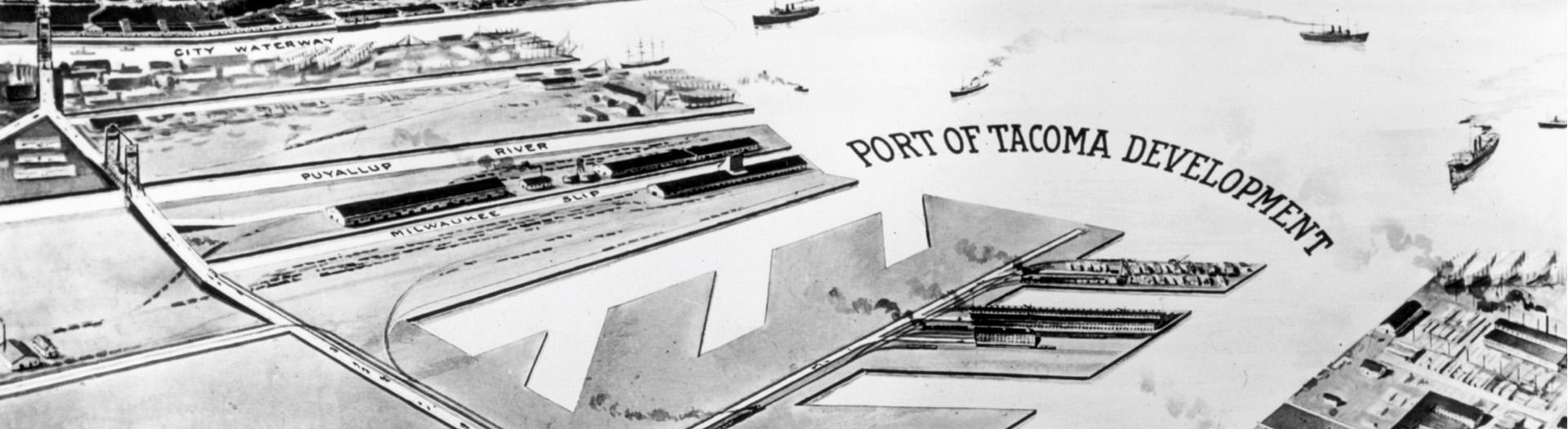 Plan for the Port from 1918