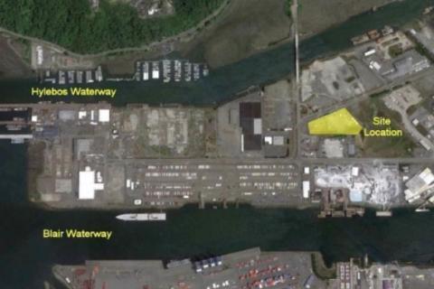 PQ Contamination Site Map