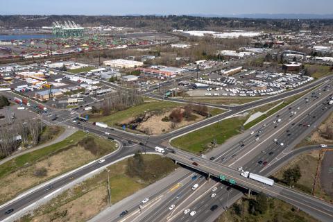 Port of Tacoma Road/ Interstate 5 Interchange
