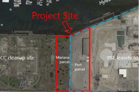 Alexander Ave site map