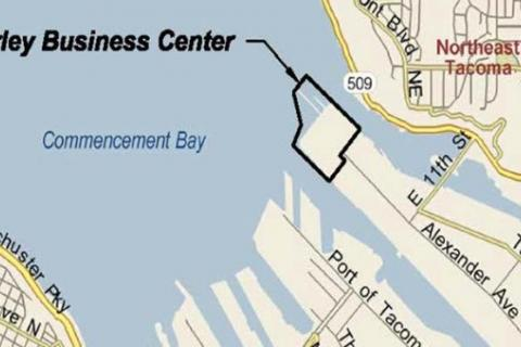 Early Business Center site map