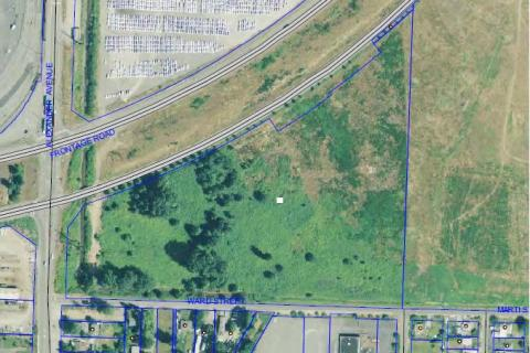 Lower Wapato Creek Habitat site map