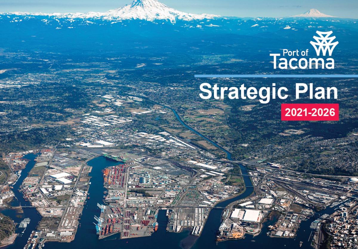 cover of port of tacoma strategic plan