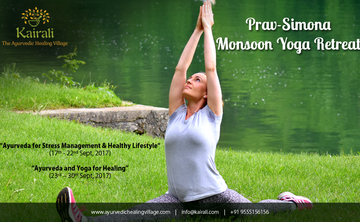 De-stress at Monsoon Yoga Retreat with Prav & Simona Satthi at Kairali