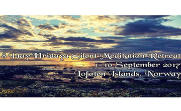 3- or 8-Day Hridaya Silent Meditation Retreat