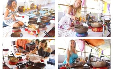 Tibetan Singing Bowls Sound Healing Training Program in Goa, India