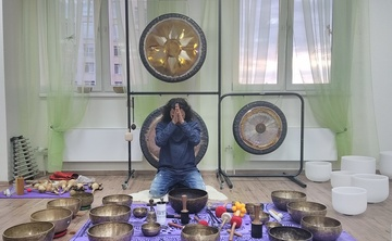 7 Days- Gong Master Training &Tibetan Singing Bowls Course in North Goa, India