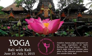 Brilliant Bali Retreat with Kali in June 2015