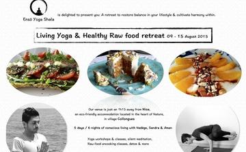 Living Yoga & Healthy Raw vegan food retreat 5days / 6nights