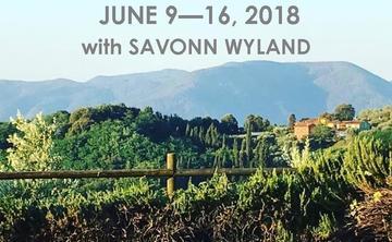 LA DOLCE VITA YOGA RETREAT IN TUSCANY WITH SAVONN WYLAND |  JUNE 9 – 16, 2018
